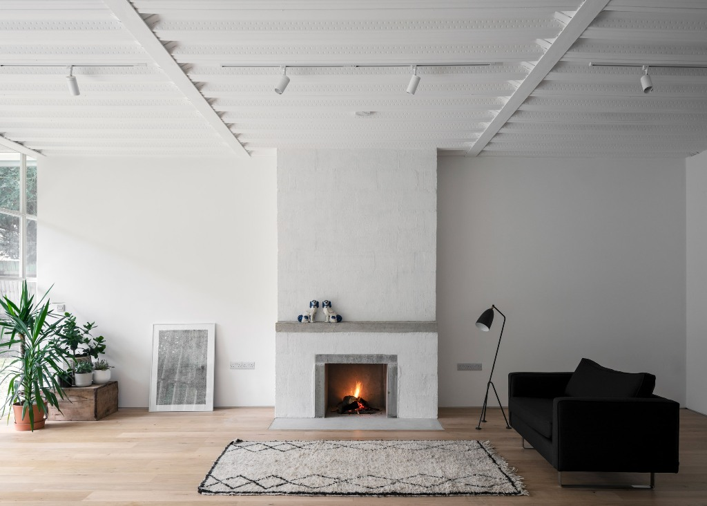 fireplace is a must for a cozy room