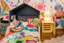 colorful space for a kid