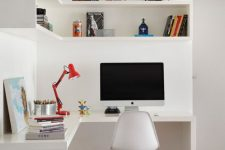 a small yet stylish minimalist home office design