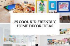25 cool kid-friendly home decor ideas cover