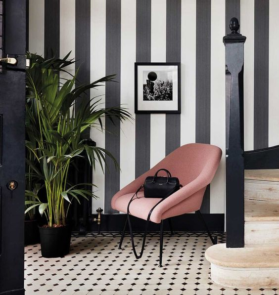 25 Striped Accent Walls For Your Home Digsdigs