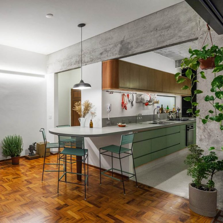Modern Remodel Of A Historic Apartment In Brazil