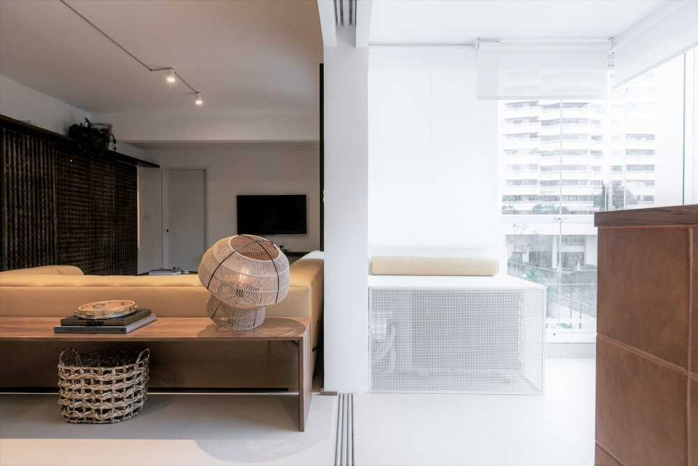 gorgeous sliding doors makes the interior stylish and practical