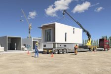 09 The structural frame of the house is lightweight and can be transported via truck