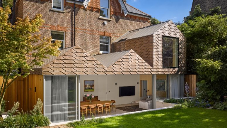 London House Renovation With Zigzags On The Facade