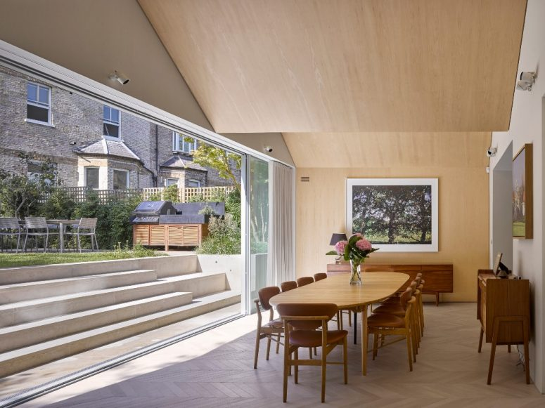 The interiors are done with plenty of maple wood, which looks light and warm