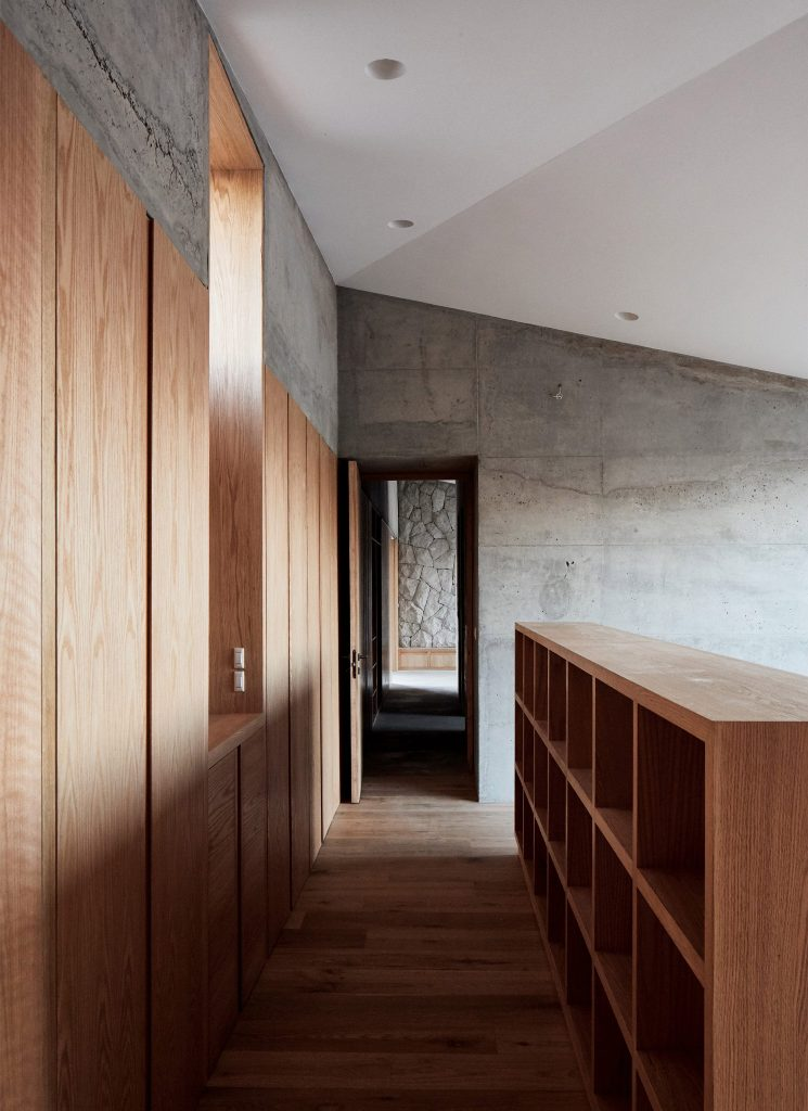 The decor is very minimal, the focus is on the views and courtyard