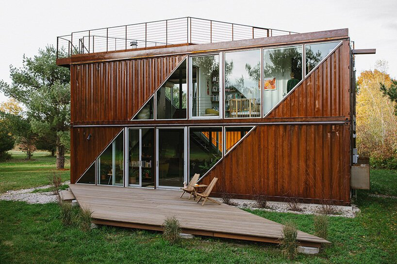 Prefab C-Home Hudson Of Shipping Containers
