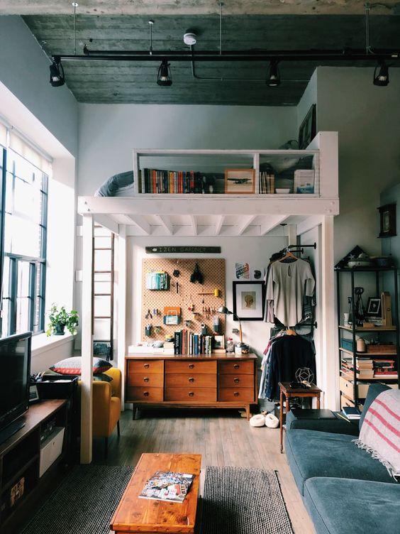 a masculine living room design