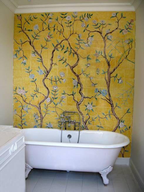 a cute vintage bathroom design