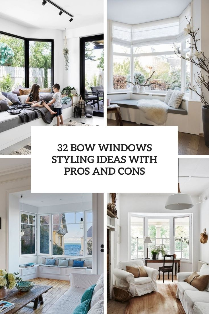 32 bow window styling ideas with pros and cons cover
