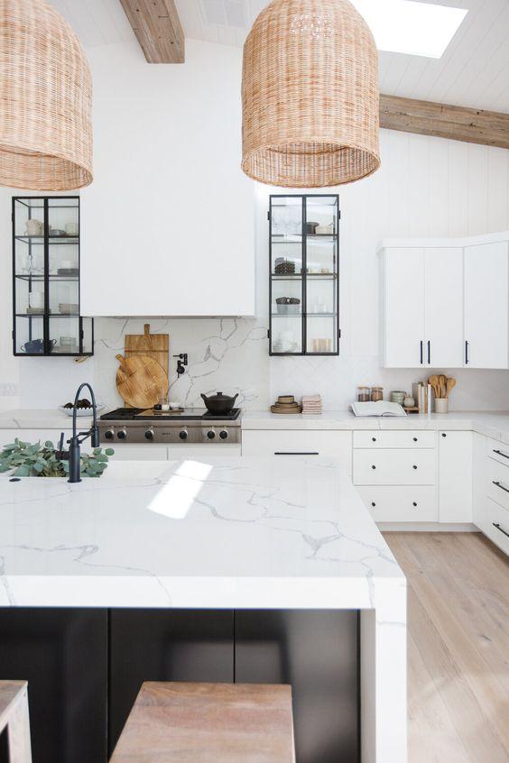 a cozy farmhouse kitchen design