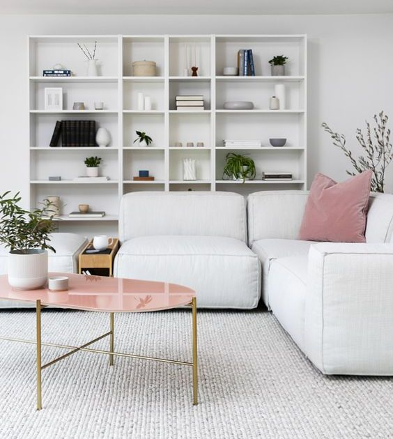 a minimalist scandi living room design