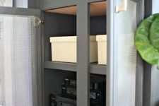 04 a cabinet with cane doors will hide your wi-fi router without blocking the signal, which is extremely important