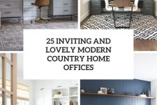 25 inviting and lovely modern country home offices cover
