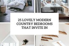 25 lovely modern country bedrooms that invite in cover