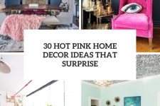 30 hot pink home decor ideas that surprise cover