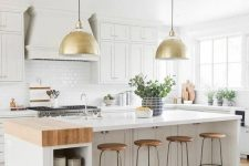 a smart kitchen island with storage is a must for a spacious kitchen