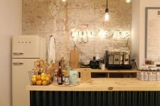 a stylish industrial kitchen design