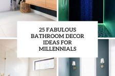 25 fabulous bathroom decor ideas for millennials cover