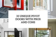 33 unique pivot doors with pros and cons cover