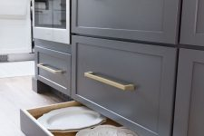 35 use even the smallest parts of your cabinets and other spaces to store stuff and other things and your kitchen will be more efficient