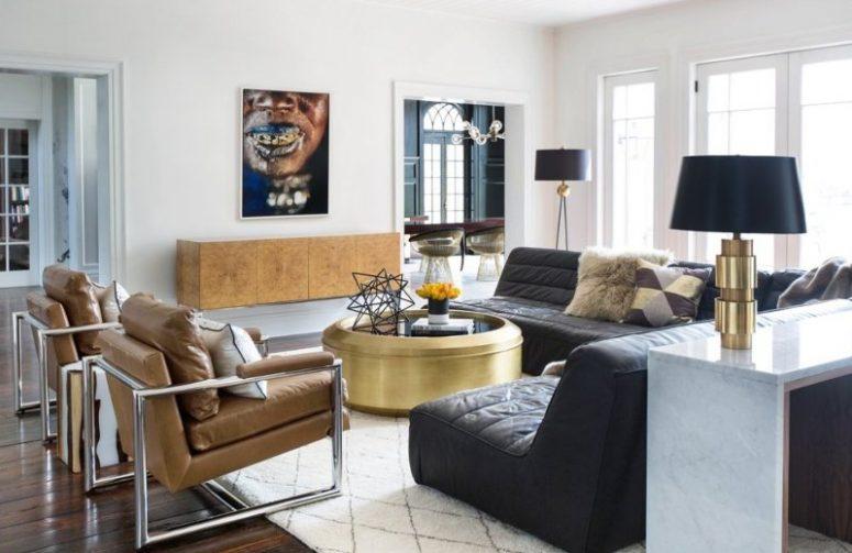 33 Stylish Contemporary Living Room, Contemporary Living Room Ideas