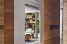 a cool modern door for a minimalist interior
