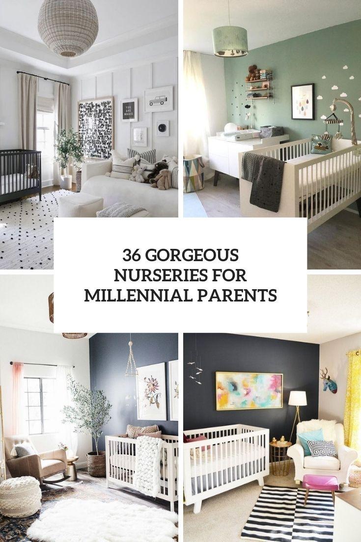 36 Gorgeous Nurseries For Millennial Parents
