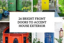 26 bright front doors to accent house exterior cover