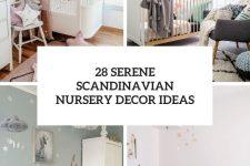 28 serene scandinavian nursery decor ideas cover