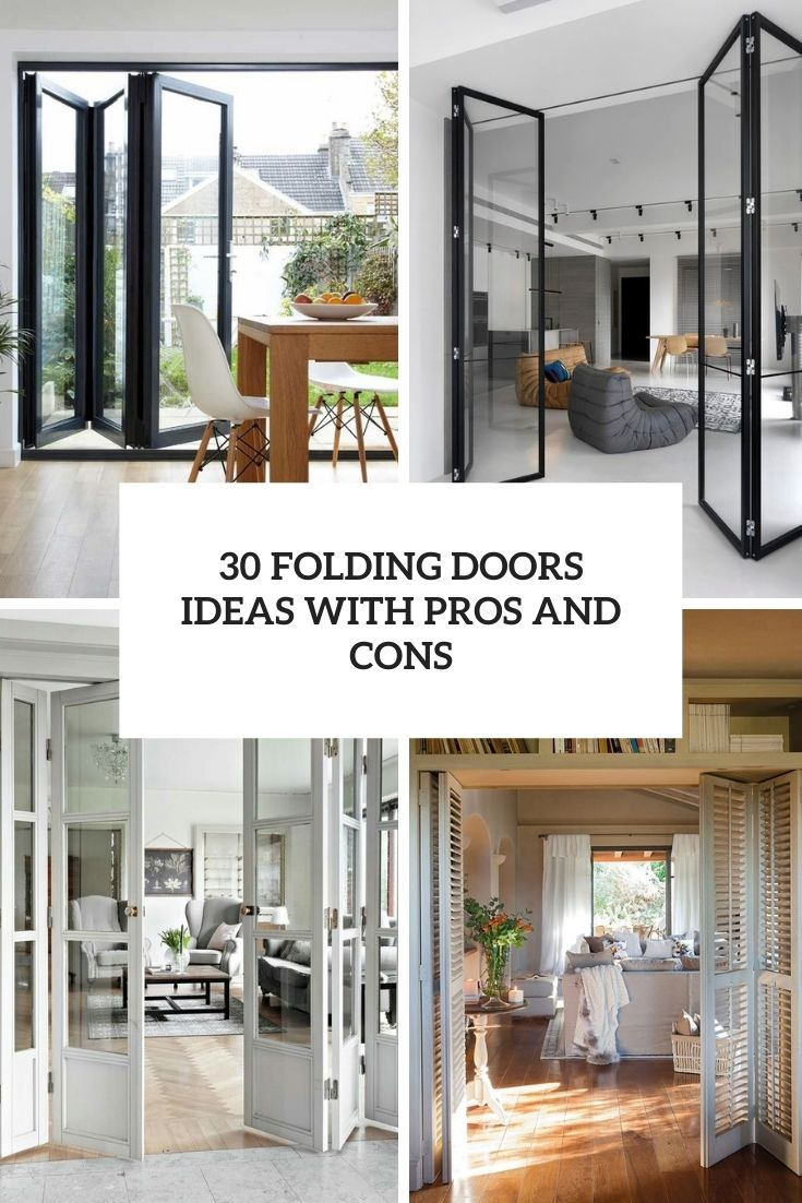 30 Folding Doors Ideas With Pros And Cons