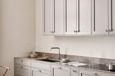 a neutral Scandinavian kitchen designs