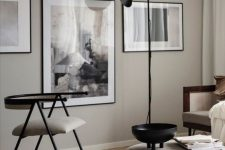 a simple scandinavian living room design