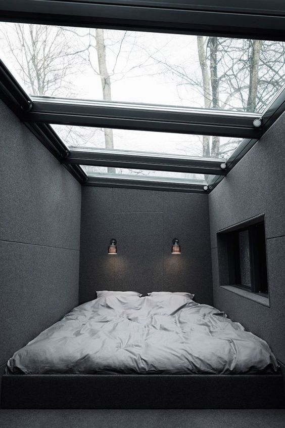 a stylish masculine bedroom design