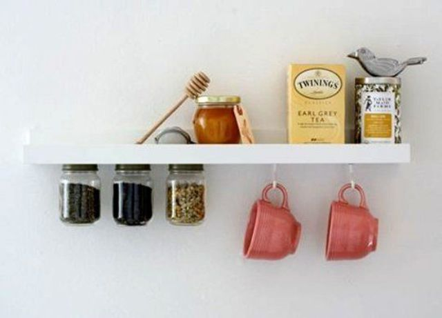 Ribba tiny tea station for your kitchen