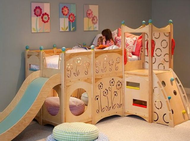 castle kid bed