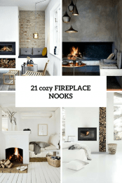 21 Cozy Fireplace Nooks Cover