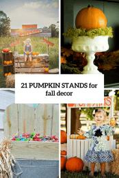 21 Fall Pumpkin Stands Cover