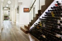 21 wine cellar under the stairs