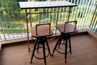 22 Dalfred bar stool hack in industrial style