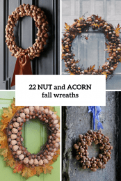 22 Nut And Acorn Fall Wreaths Cover