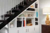 22 sideboard under the stairs