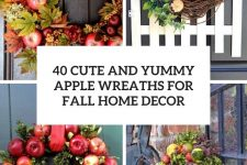 23 Apple Wreath Ideas Cover