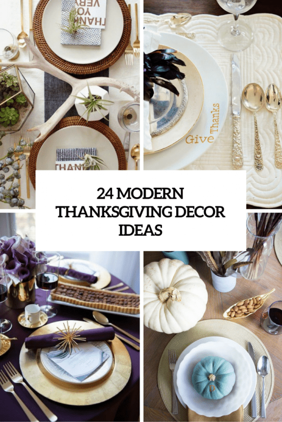 Modern Thanksgiving Decor Ideas Cover
