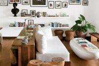 24 rustic console sofa table
