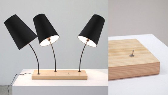 Mushroom Inspired Lamps