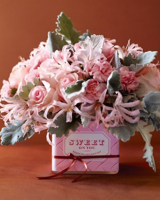 25 Flower Decoration Ideas For Valentine's Day