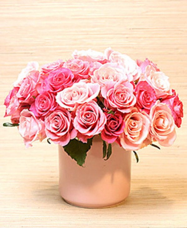 Picture of flower decoration ideas for valentine s day for Flower decoration ideas home