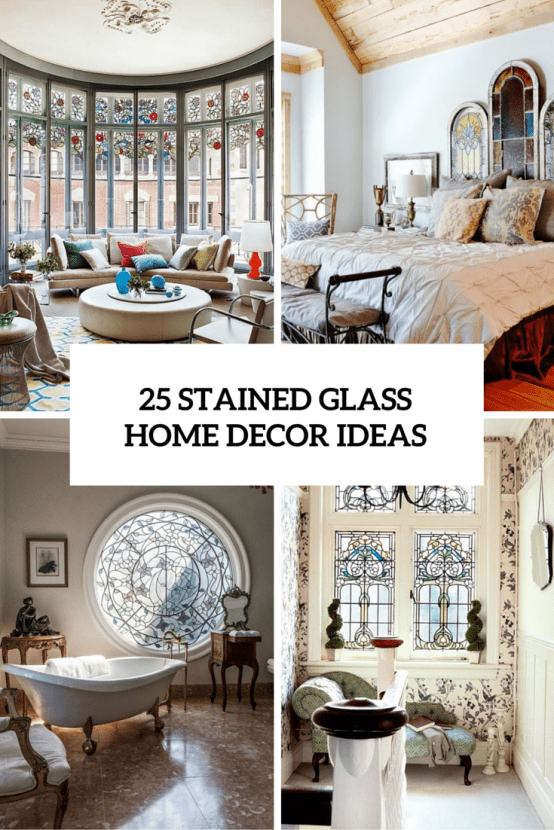 Stained Glass Home Decor Ideas Cover